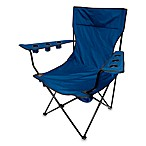Kingpin Folding Chair in Blue
