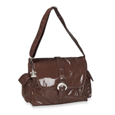 Kalencom Fire & Ice Diaper Bag in Chocolate
