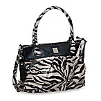 Kalencom On the Wild Side Diaper Bag in Tiger Black/ Cream