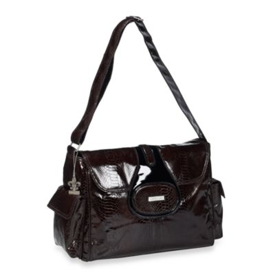 Kalencom Elite Cosmopolitan Diaper Bag in Chocolate