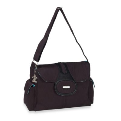 Kalencom Elite Pizzazz Diaper Bag in Black