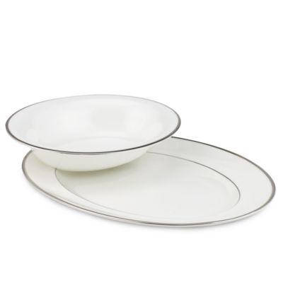 Wedgwood® Sterling 9 3/4-Inch Open Vegetable Dish