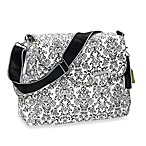 Kalencom Ozz Diaper Bag in Dainty White