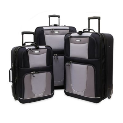 Geoffrey Beene 3-Piece Carnegie Luggage Set