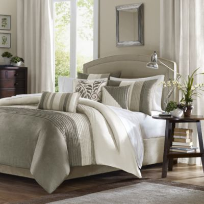 Amherst 6-Piece Full/Queen Duvet Set in Natural