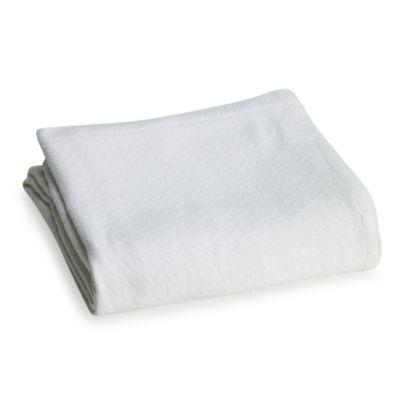 Berkshire Blanket® Egyptian Cotton Full/Queen Blanket in White