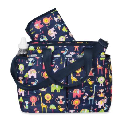LeSportsac Ryan Diaper Bag - Zoo