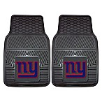 NFL New York Giants Vinyl Car Mats (Set of 2)