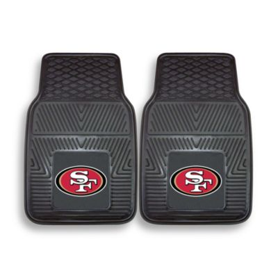 NFL San Francisco 49ers Vinyl Car Mats (Set of 2)