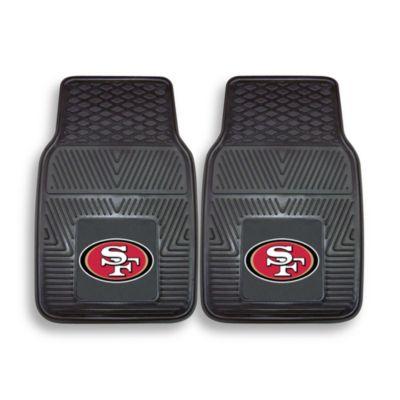 NFL San Francisco 49ers Vinyl Car Mats (Set of 2)