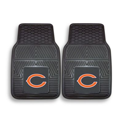 NFL Chicago Bears Vinyl Car Mats (Set of 2)