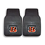 NFL Cinncinnati Bengals Vinyl Car Mats (Set of 2)