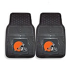 NFL Cleveland Browns Vinyl Car Mats (Set of 2)