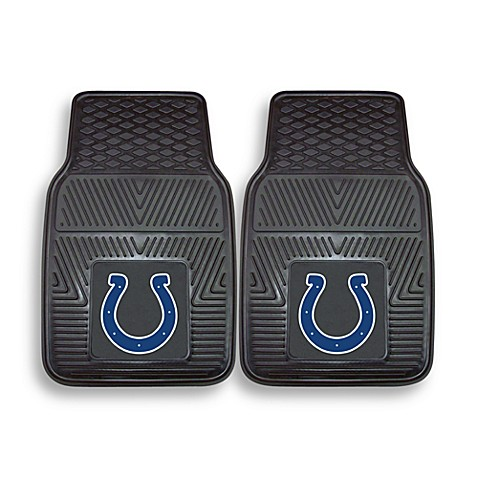 NFL Indianapolis Colts Vinyl Car Mats (Set of 2)