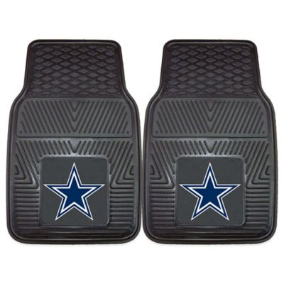NFL Dallas Cowboys Vinyl Car Mats (Set of 2)