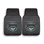 NFL New York Jets Vinyl Car Mats (Set of 2)