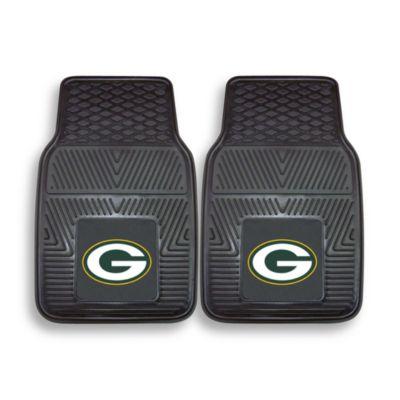 NFL Green Bay Packers Vinyl Car Mats (Set of 2)