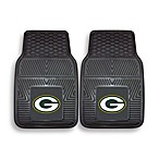 NFL Green Bay Packers Vinyl Car Mats (Set of 2)