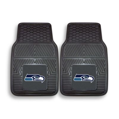 NFL Seattle Seahawks Vinyl Car Mats (Set of 2)