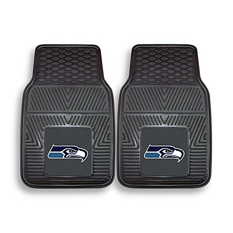 NFL Seattle Seahawks Vinyl Car Mats (Set of 2)