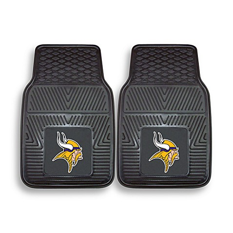 NFL Minnesota Vikings Vinyl Car Mats (Set of 2)