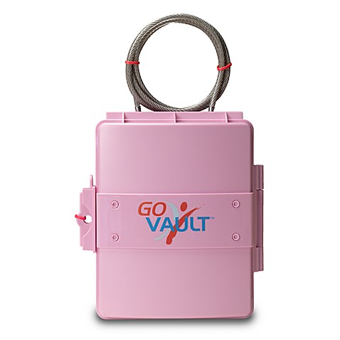 Go Vault™ Personal Portable Vault - Pink