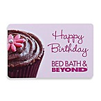 Happy Birthday Pink Cupcake Gift Card $100.00