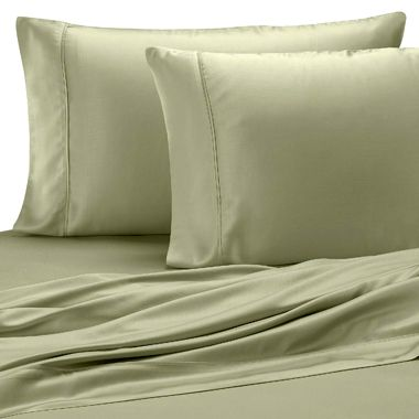 Pure Beech® Sateen Standard Pillowcase in Sage (Set of 2)