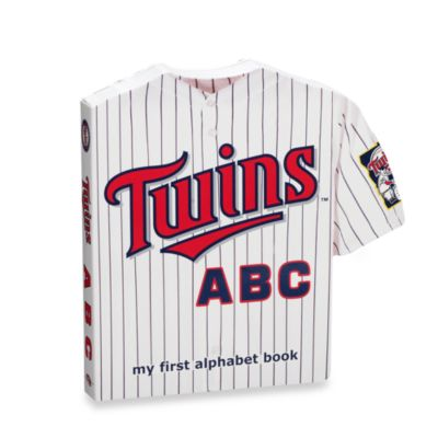 "MLB Baseball ""ABC"" Board Book in Minnesota Twins"