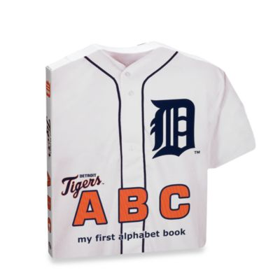"MLB Baseball ""ABC"" Board BooK in Detroit Tigers"
