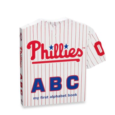 "MLB Baseball ""ABC"" Board Book in Philadelphia Phillies"