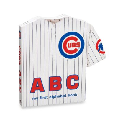 "MLB Baseball ""ABC"" Board Book in Chicago Cubs"