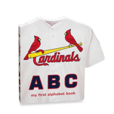 "MLB Baseball ""ABC"" Board Book in St. Louis Cardinals"
