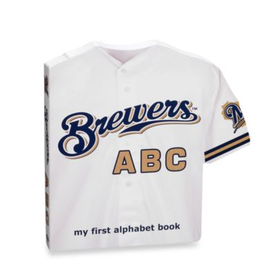 "MLB Baseball ""ABC"" Board Book in Milwaukee Brewers"