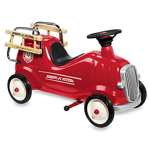 Radio Flyer® Little Red Fire Engine