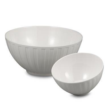 Wedgwood® Night and Day 10-Inch Fluted Bowl
