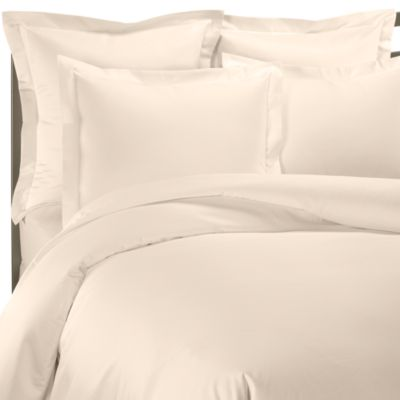 1000 Thread Count Standard Sham in Ivory