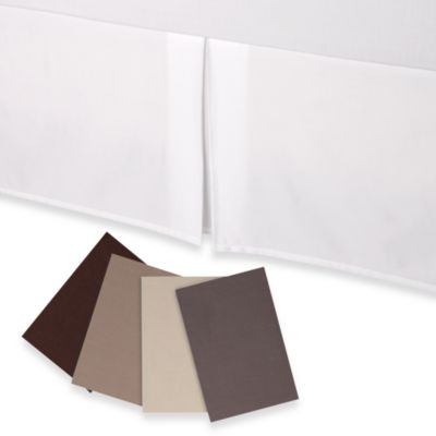 Hotel Collection Twin Bed Skirt in Canvas