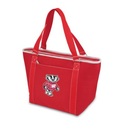 Picnic Time® University of Wisconsin Collegiate Topanga Cooler Tote in Red