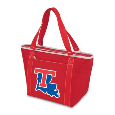 Picnic Time® Louisiana Tech Collegiate Topanga Cooler Tote in Red