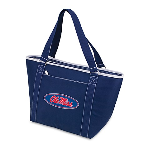 Picnic Time® University of Mississippi Collegiate Topanga Cooler Tote in Navy Blue