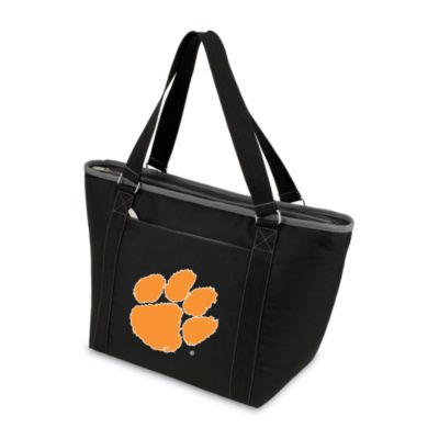 Picnic Time® Clemson University Collegiate Topanga Cooler Tote in Black