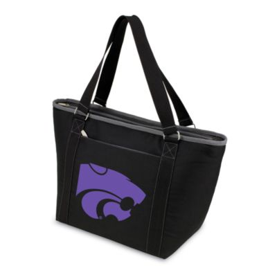 Picnic Time® Kansas State University Collegiate Topanga Cooler Tote in Black