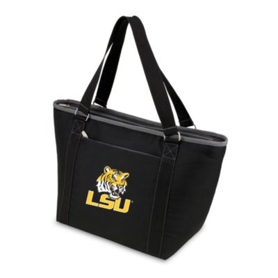 Picnic Time® Louisiana State University Collegiate Topanga Cooler Tote in Black
