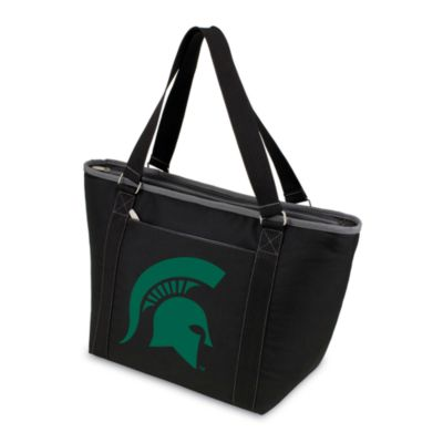 Picnic Time® Michigan State Collegiate Topanga Cooler Tote in Black