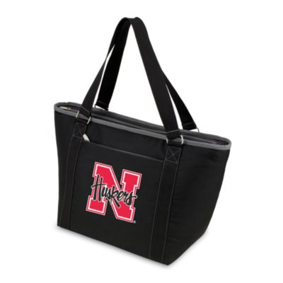 Picnic Time® University of Nebraska Collegiate Topanga Cooler Tote in Black