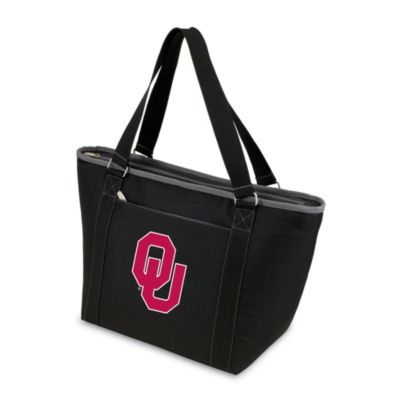 Picnic Time® University of Oklahoma Collegiate Topanga Cooler Tote in Black