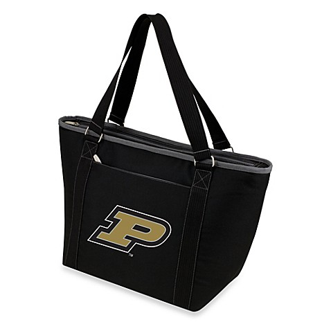 Picnic Time® Purdue University Collegiate Topanga Cooler Tote in Black