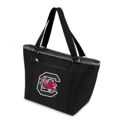 Picnic Time® University of South Carolina Collegiate Topanga Cooler Tote in Black
