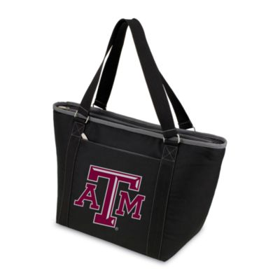 Picnic Time® Texas A&M University Collegiate Topanga Cooler Tote in Black